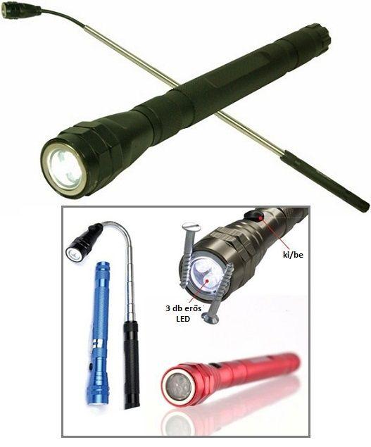 Flexi torch, GABElight! Három szuper hosszú élettartamú erős LED-del szerelt zseblámpa csúszásmentes, rovátkolt alumínium testben. A lámpa szükség...