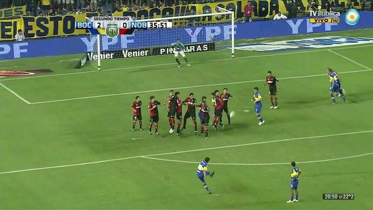 Gol de Riquelme a Newell's Old Boys (2012)