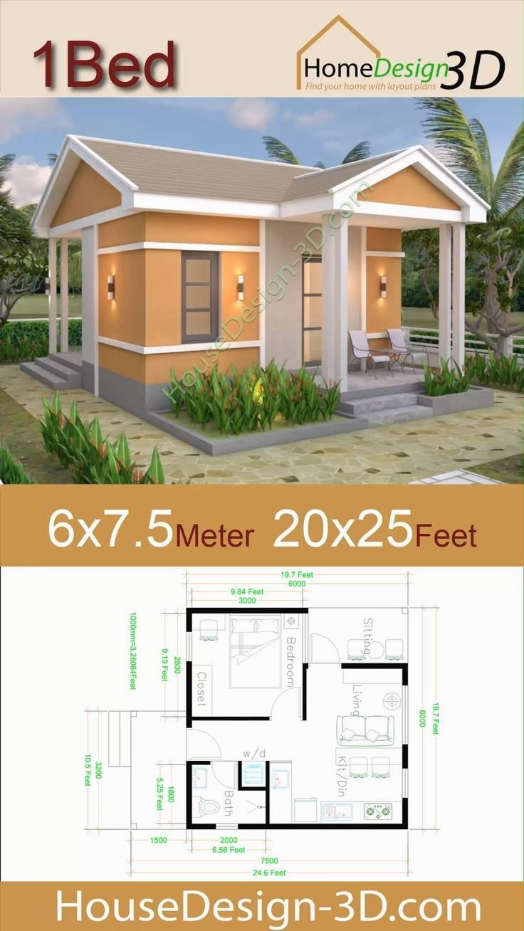 Tiny House Big Decor Best Small Houses We Ve Seen This Season In 2020 One Bedroom House Plans House Plans Small House Design