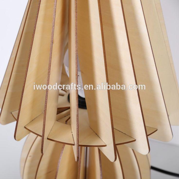 2016 indoor lighting Wood table lamp