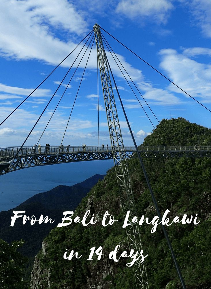 What to do on a way from #Bali to #Langkawi. See our journey and get inspired for your trip. For more #traveltips, see www.101wordsoftravel.com.