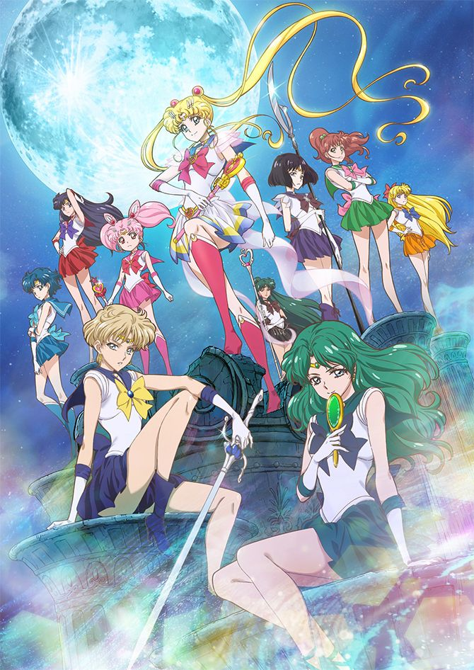 NEW official Sailor Moon Crystal Season 3 artwork... - sailor moon collectibles