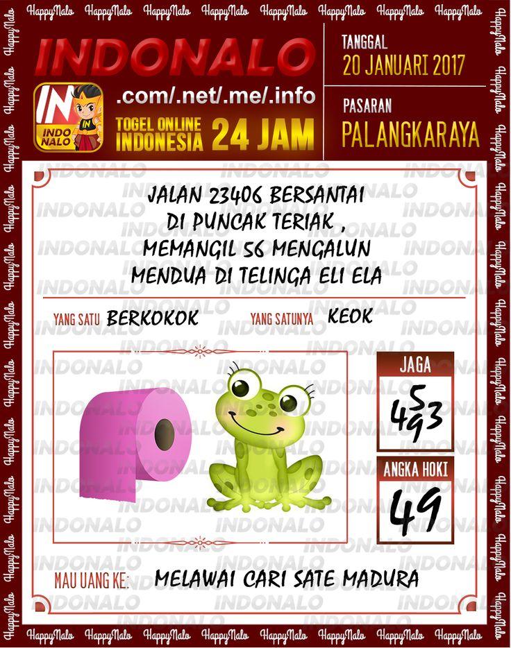 Nomer Hoki 4D Togel Wap Online Live Draw 4D Indonalo Palangkaraya 20 Januari 2017