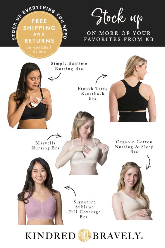 8f1001f1ac206 The award-winning ultra-soft Breastfeeding   Maternity Sleep Bras are the ultimate  layer of comfort for nursing and pregnant women.