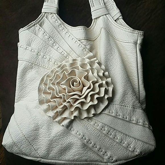 Red by Marc Ecko Cute White / Cream shoulder bag Marc Ecko Bags Shoulder Bags