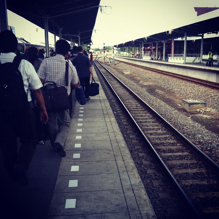 Cirebon Train Station, West Java.