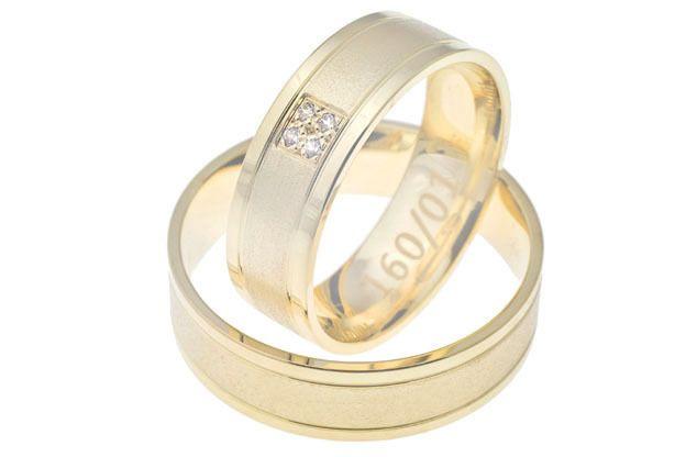 Snubné prstene - model č. 160/01