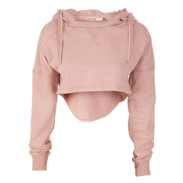Crafted Acid Wash Sweater Hoody (£25) ❤ liked on Polyvore featuring tops, hoodies, sweatshirts, shirts, sweaters, womens sweats, shirt hoodie, hooded pullover, hooded sweatshirt and pink sweatshirt