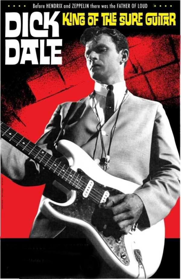 Surf Guitar Legend, Dick Dale, comes to Hard Rock Live Las Vegas Friday, December 13