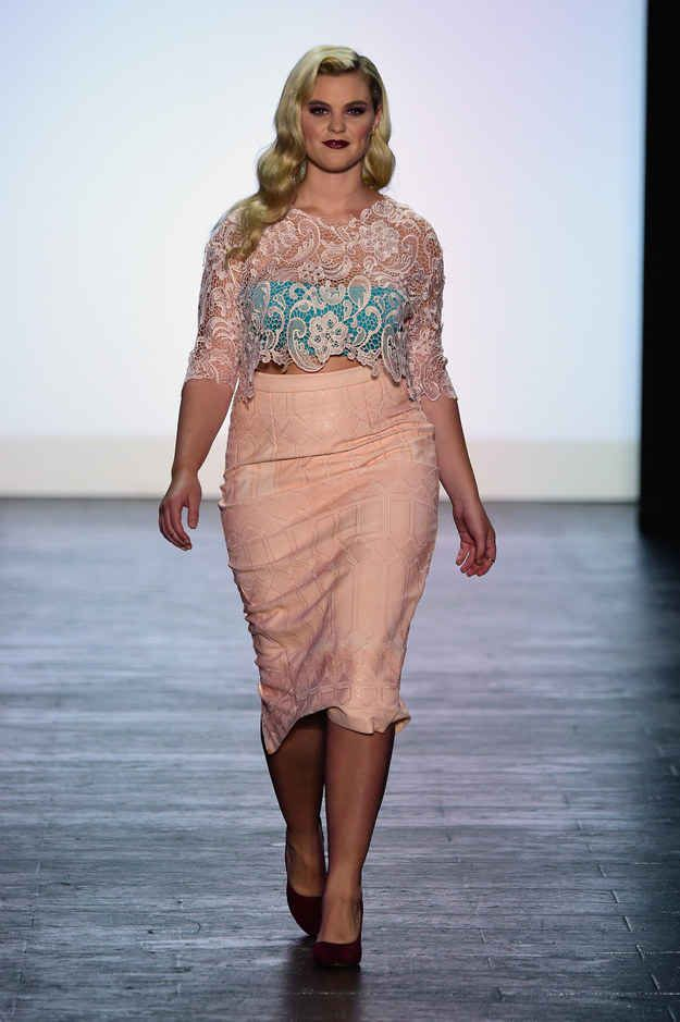 """Ashley Nell Tipton Is The First """"Project Runway"""" Winner To Win With A Plus-Size Collection LOVE This Collection!"""