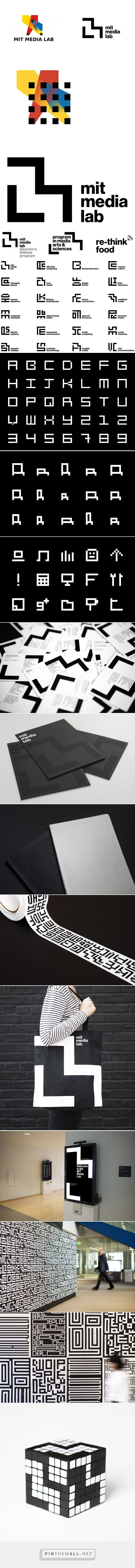 Brand New: New Logo and Identity for MIT Media Lab by Pentagram - created via https://pinthemall.net