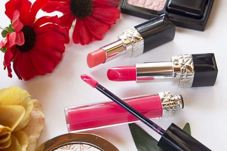 Dior Glowing Gardens Spring 2016 Collection: Swatches