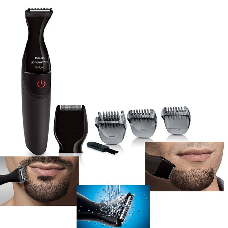 Beard And Mustache Trimmer Philips Norelco GoStyler Trim and Shape New FS9185/49 #PhilipsNorelco
