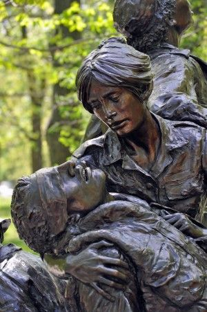 Battle of IA Drang | Vietnam Women's Memorial in Washington, D.C. Image credit: Callie ...