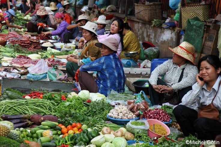#Cambodia - Battambang Market
