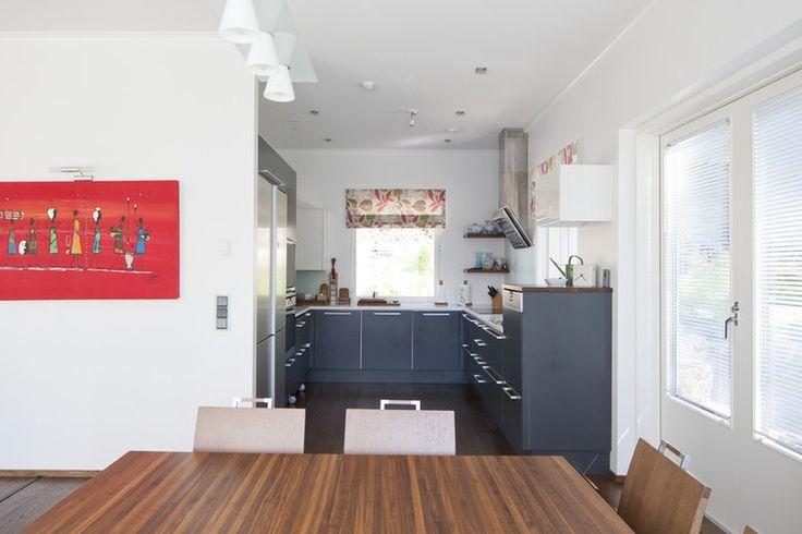 Väreillä kaunista tunnelmaa keittiöön, lisää ideoita www.lammi-kivitalot.fi