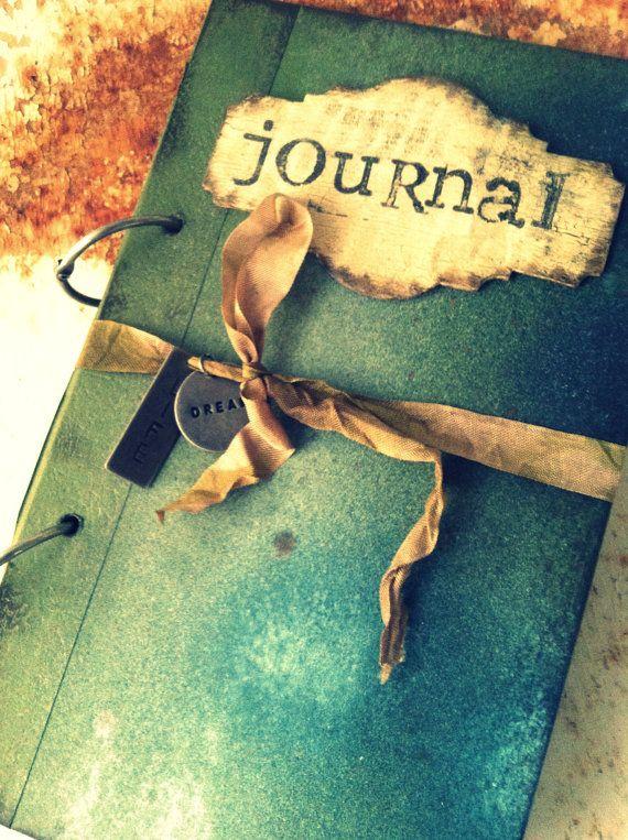Journal Custom Boho von ShabbyScrap auf Etsy, $100.00