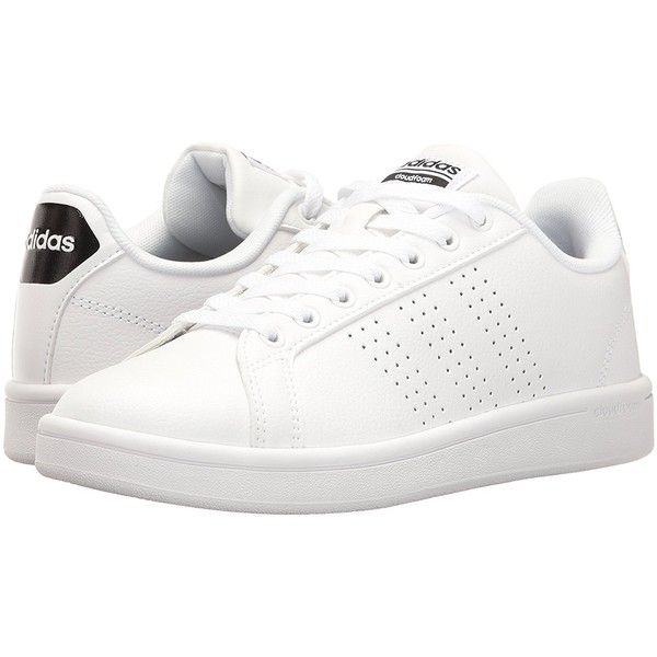 adidas NEO Women's Cloudfoam Advantage Clean W Fashion Sneaker ($31) ❤  liked on Polyvore