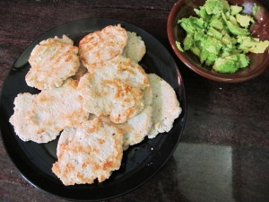 Organic Garlic Ginger Chicken PAtties, this Crohn's belly enjoys it, I hope yours does too! (I love to eat it with a bowl of soup on the side and avocados)