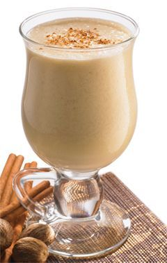 This festive tipple combines the exotic flavors of coconut milk and cinnamon bark for the perfect holiday drink.