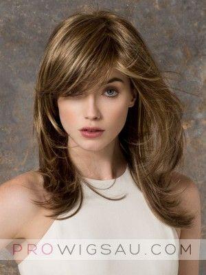 Amazing Natural Straight Human Hair Capless Wig