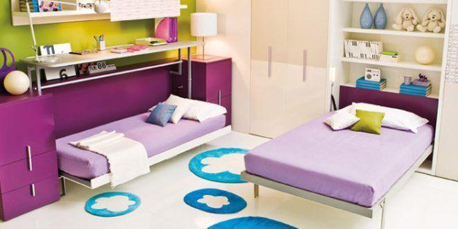 17 mejores im genes sobre dormitorios compartidos o - Habitaciones infantiles compartidas pequenas ...