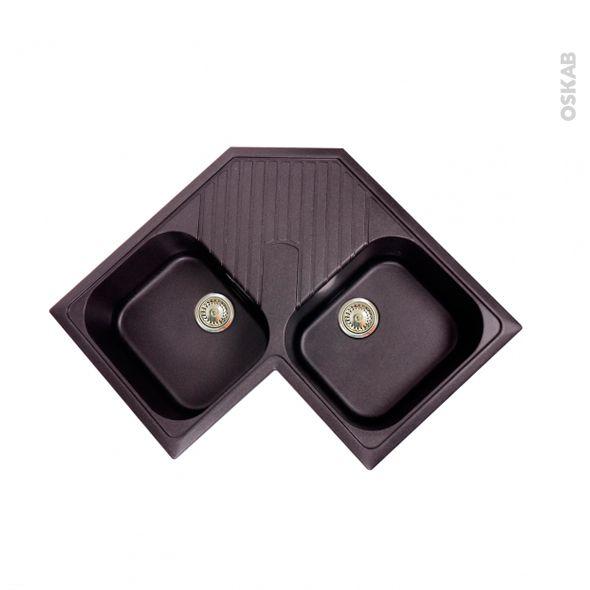 les 25 meilleures id es de la cat gorie viers de cuisine noirs sur pinterest vier noir et viers. Black Bedroom Furniture Sets. Home Design Ideas