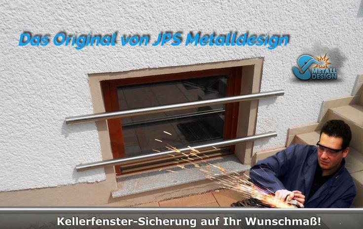 Kellerfenster Einbruchschutz,Kellerfenster Sicherung,Sicherungsstangen Edelstahl