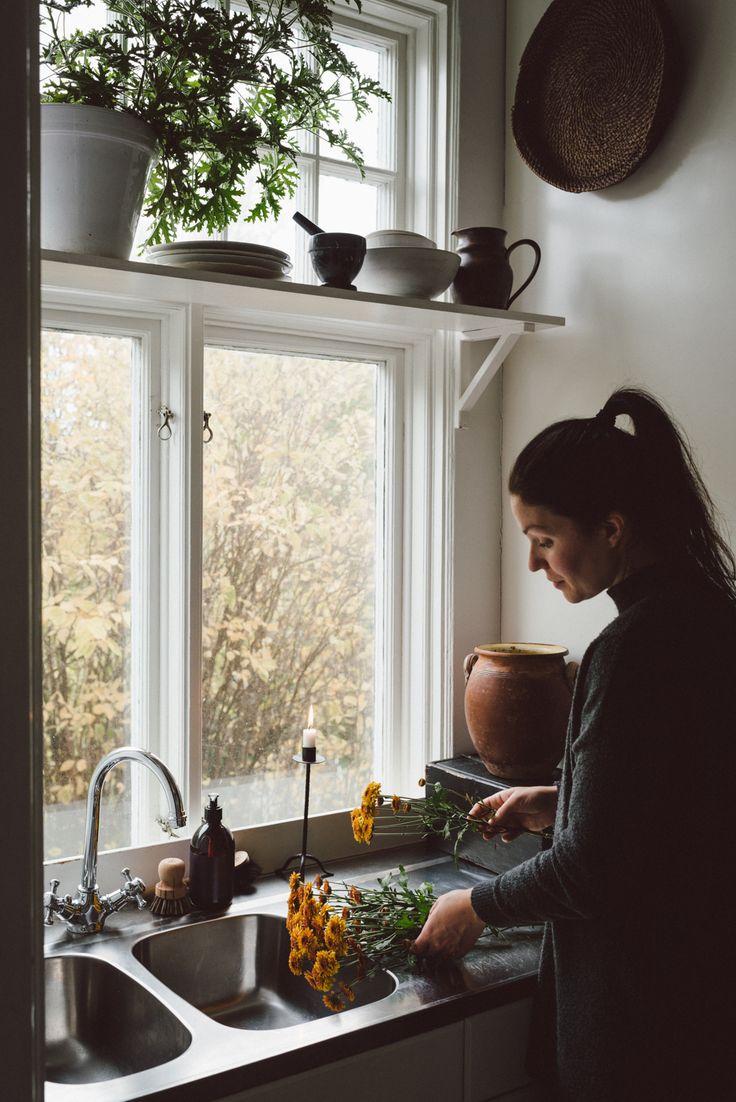 Autumn kitchen by Babes in Boyland