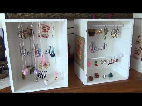 1000 id es sur le th me rangement de bijoux sur pinterest armoire bijoux rangement de. Black Bedroom Furniture Sets. Home Design Ideas