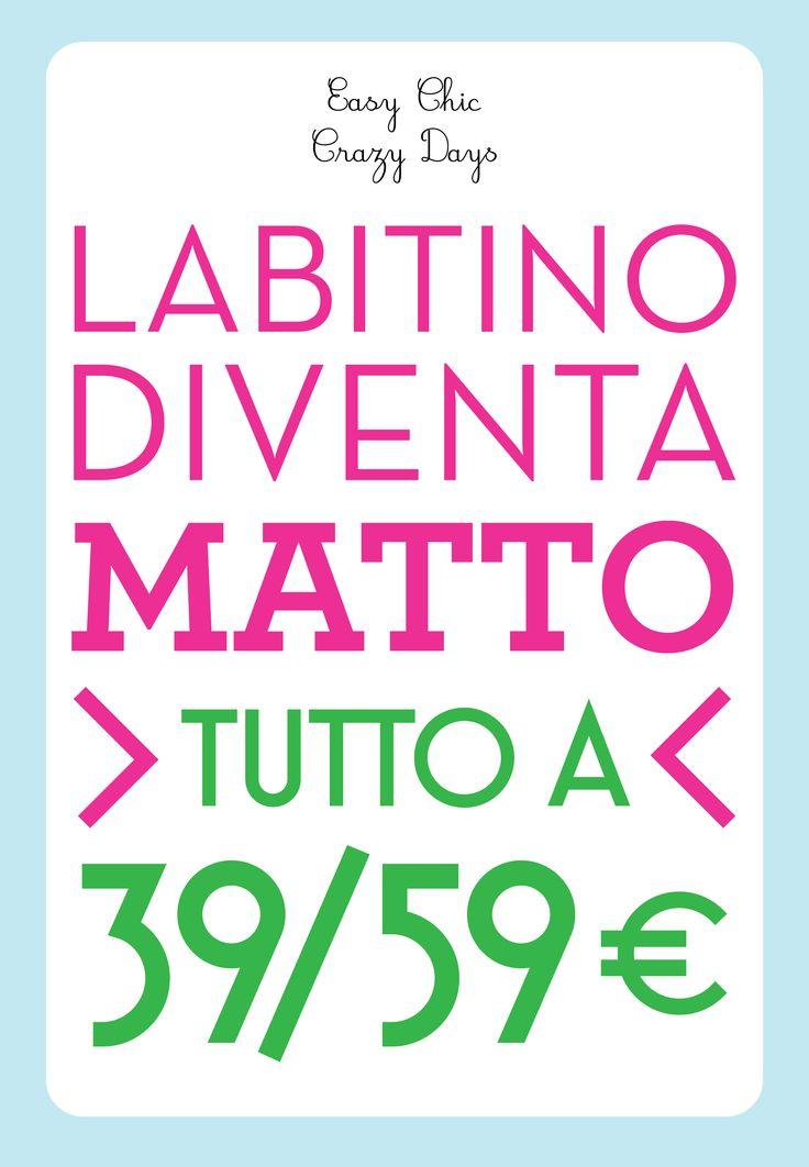 #santasofia #labitino #saldi