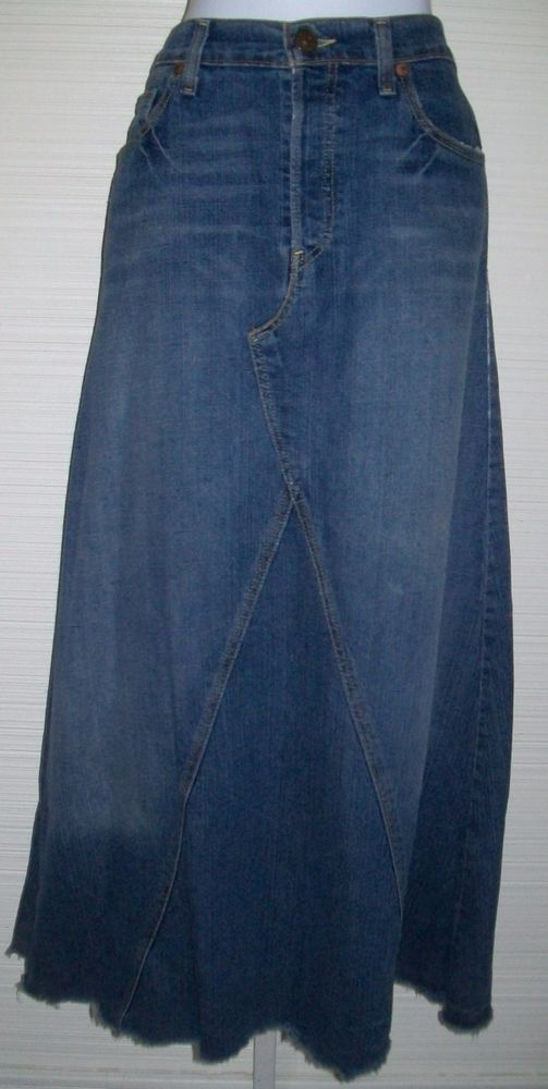Long blue jean skirts for juniors – Modern skirts blog for you