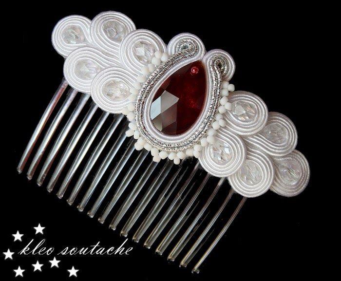 Sutasz Kleo /Soutache jewellery: BLAURA