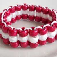 pony bead bracelets - Google Search