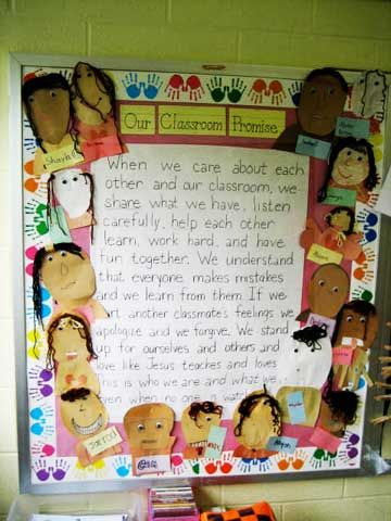 We used this Classroom Promise 1st grade when I was student teaching!