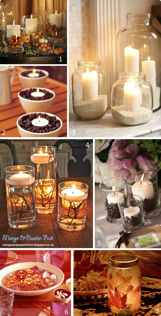 candle DIY projects.