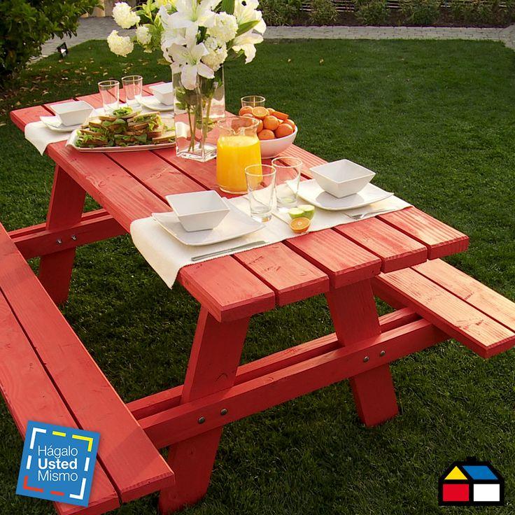¿Cómo construir una mesa de picnic?  #HágaloUstedMismo #HUM #DIY