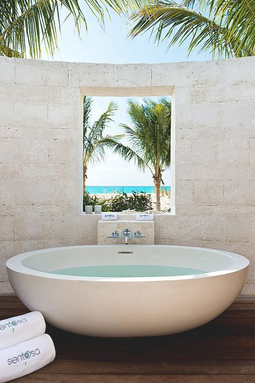 An unique inspirational bathroom. #corposflex #suplementos https://www.corposflex.com/bsn-syntha-6-edge-1870g-48-servings-whey-protein