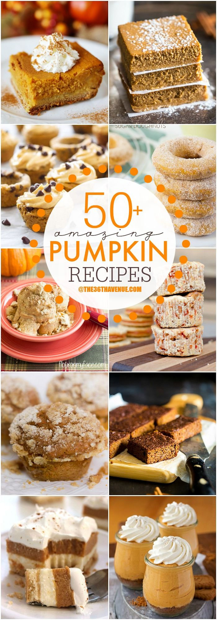 Top 50 Pumpkin Recipes...These are amazing!