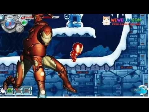 スーパーヒーローアイアンマンの戦い4