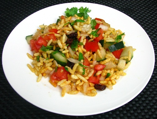 Post image for Vegetable Chaat( Bhel puri)