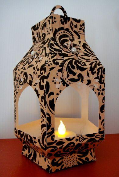 Lanterna Marroquina M com Vela Led