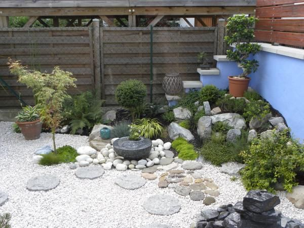Mini jardin zen couleurs jardin pinterest minis for Amenager un petit coin terrasse