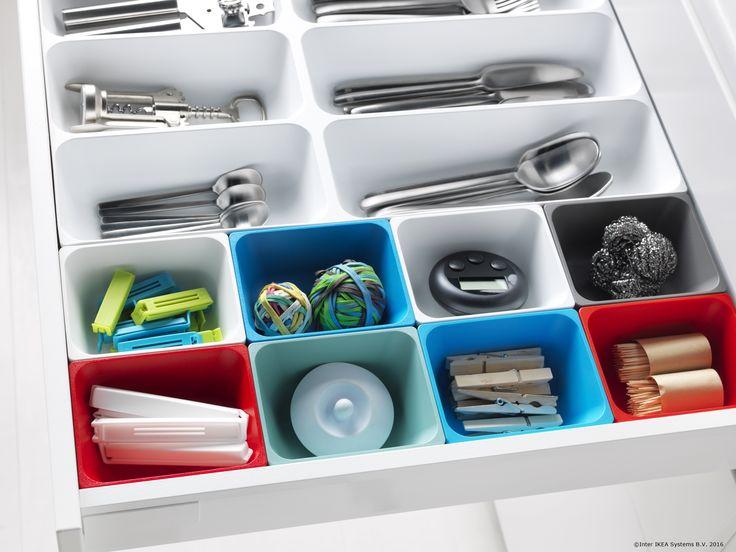 În organizarea bucătăriei tale și sertarele îți vin în ajutor.