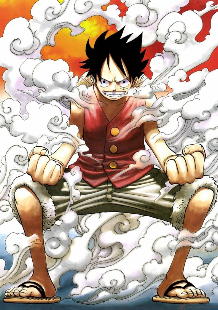 One Piece: Luffy. Making entrances epic.