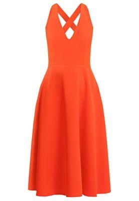 Cocktailkleid / festliches Kleid - orange