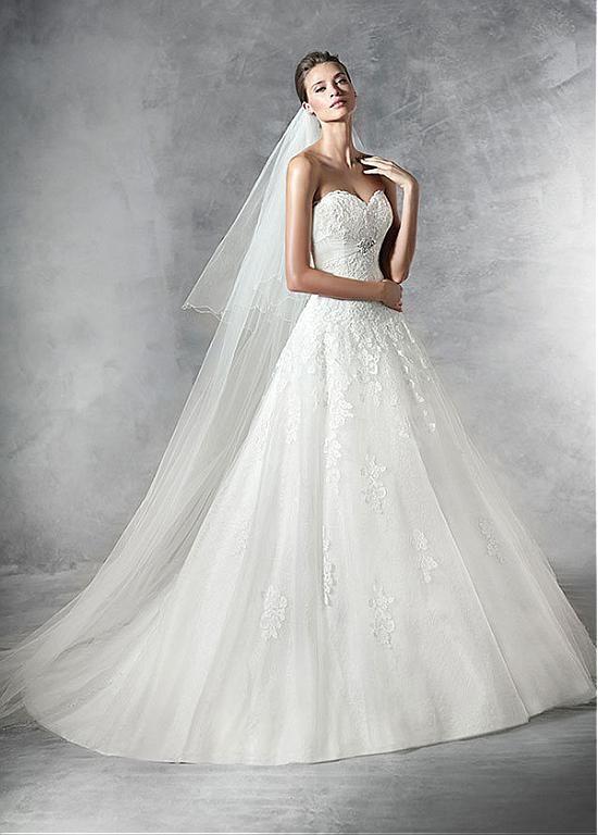 Best Pronovias Images On Pinterest Wedding Dressses Brides