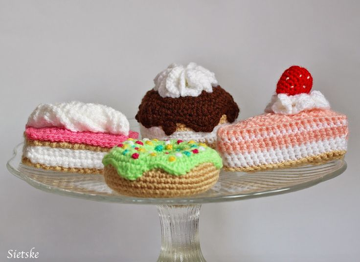 Sietske's Hobby's: gebakjes