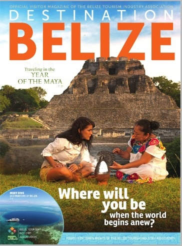 Destination Belize 2012 Magazine Online. I was fortunate enough to meet Aurora herself. The Shaman pictured on the right.