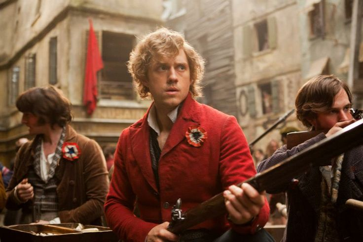 Les Miserables (2012) - Aaron Tveit as Enjolras as far as movie